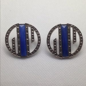 Very Stylish Art Deco Earrings